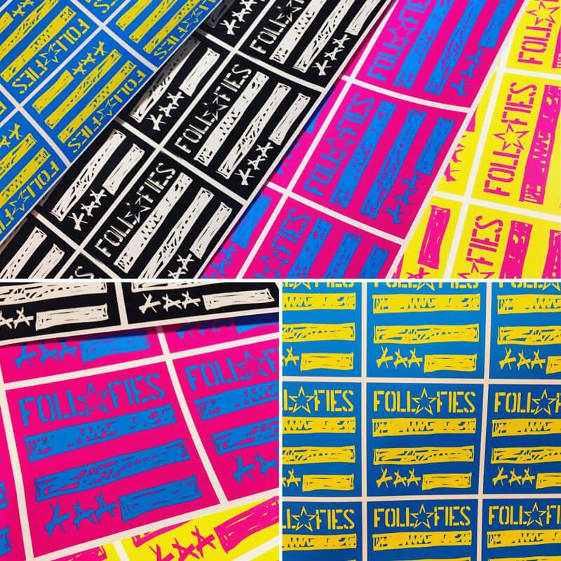 FOLL FIES Sticker 2019